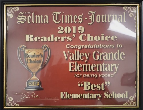 Valley Grande Elementary Best Elementary School