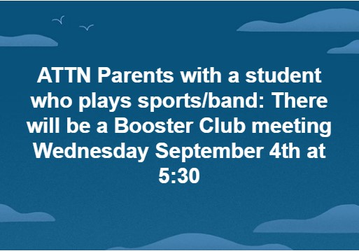 Keith Middle-High Booster Club Meeting
