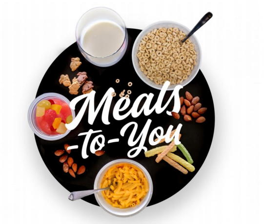 Meals to you clip art