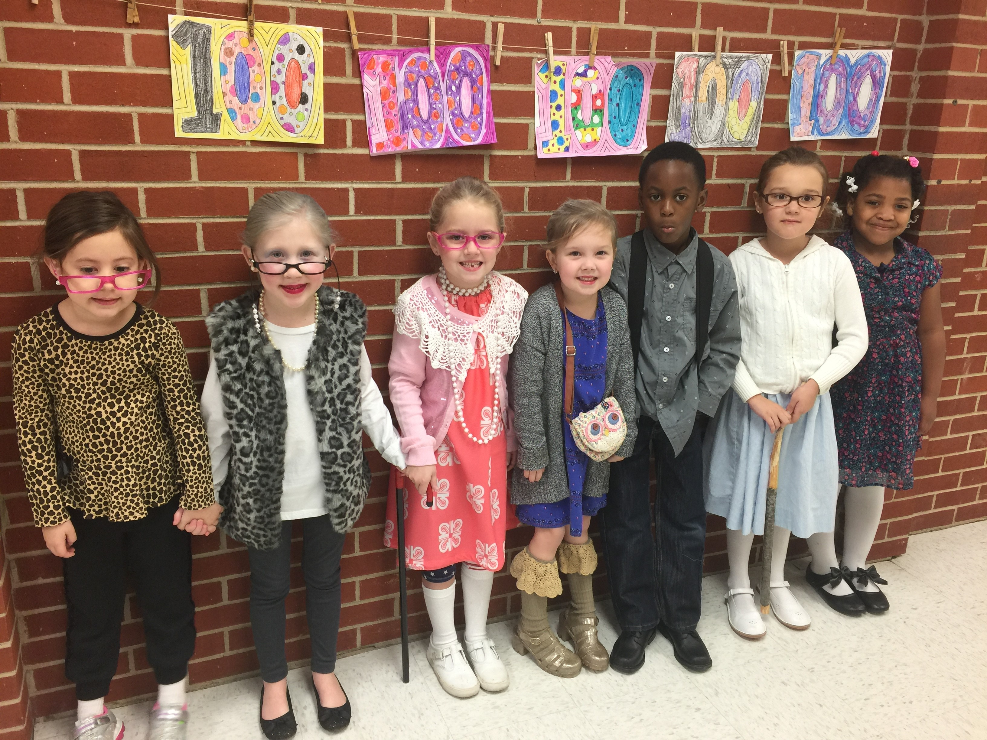 Turner's 100th day of school