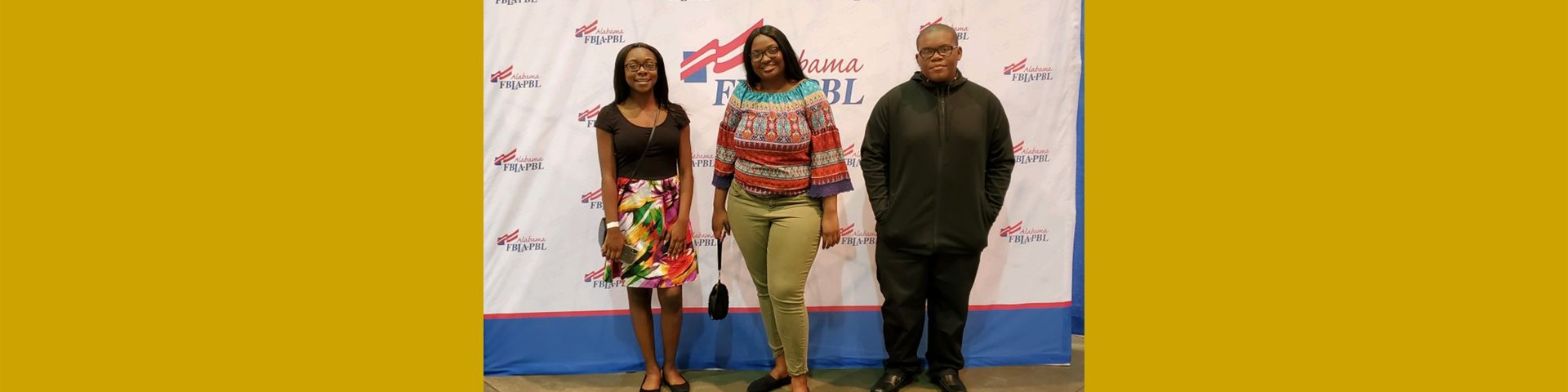 Joint Leadership Development Conference (JLDC) Birmingham, AL Attendees: JAG Officers, Alexis Hall, President & Denrone Mitchell, Vice President;  FBLA Officer Kaliyah Williams, President