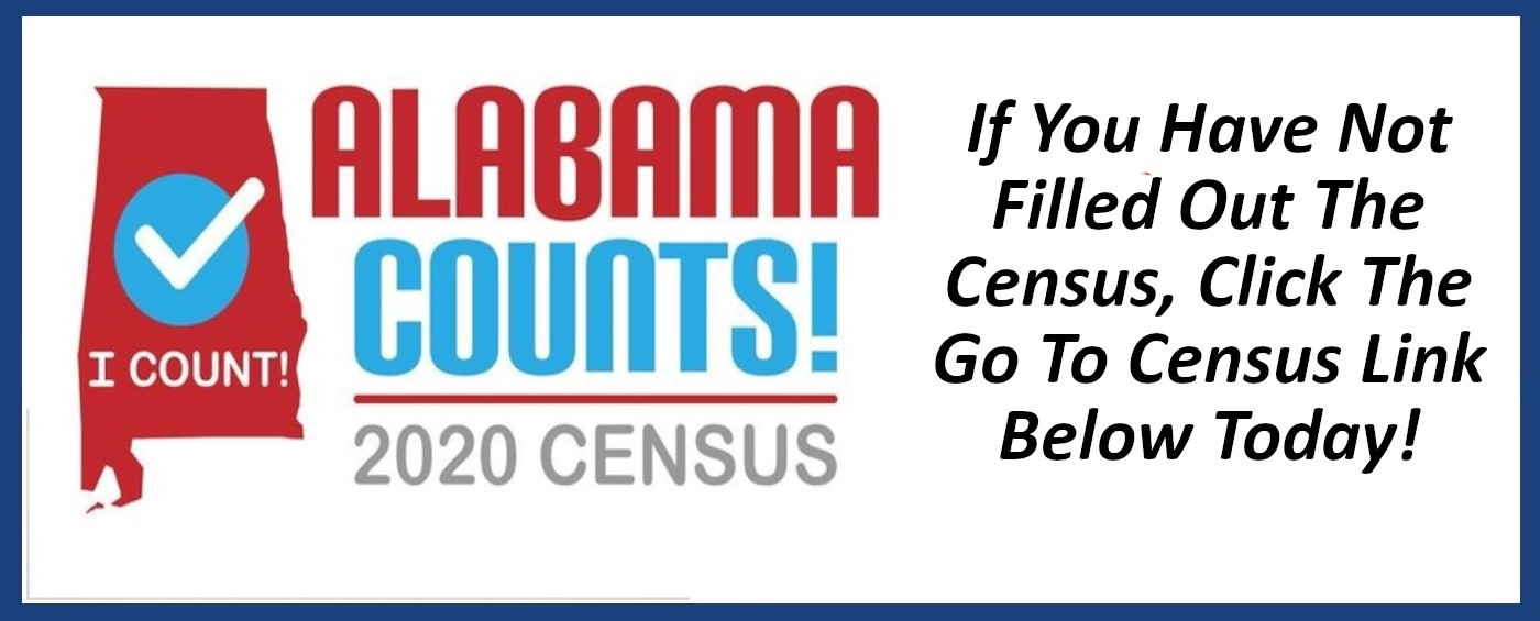 Link and advertisement to complete the 2020 Census
