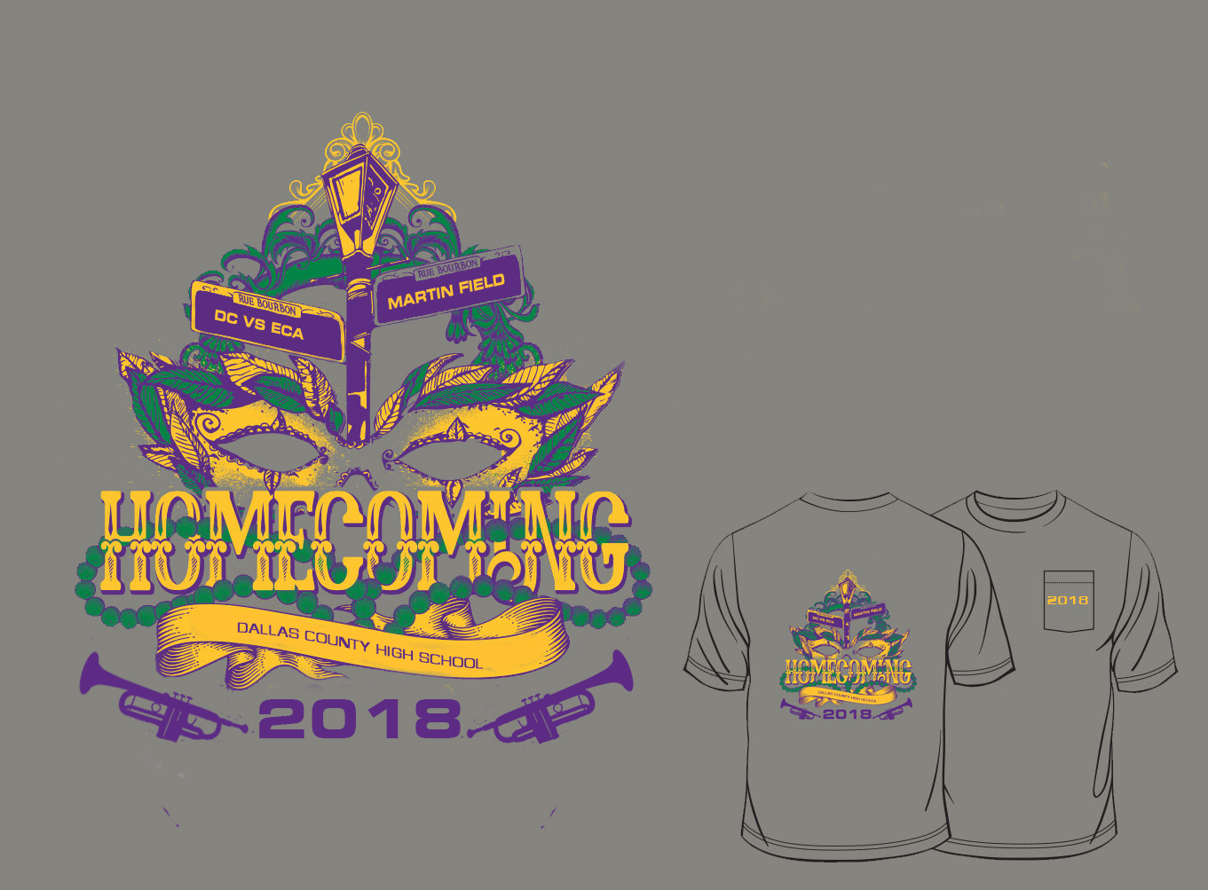 Homecoming T Shirts On Sale Dallas County High School