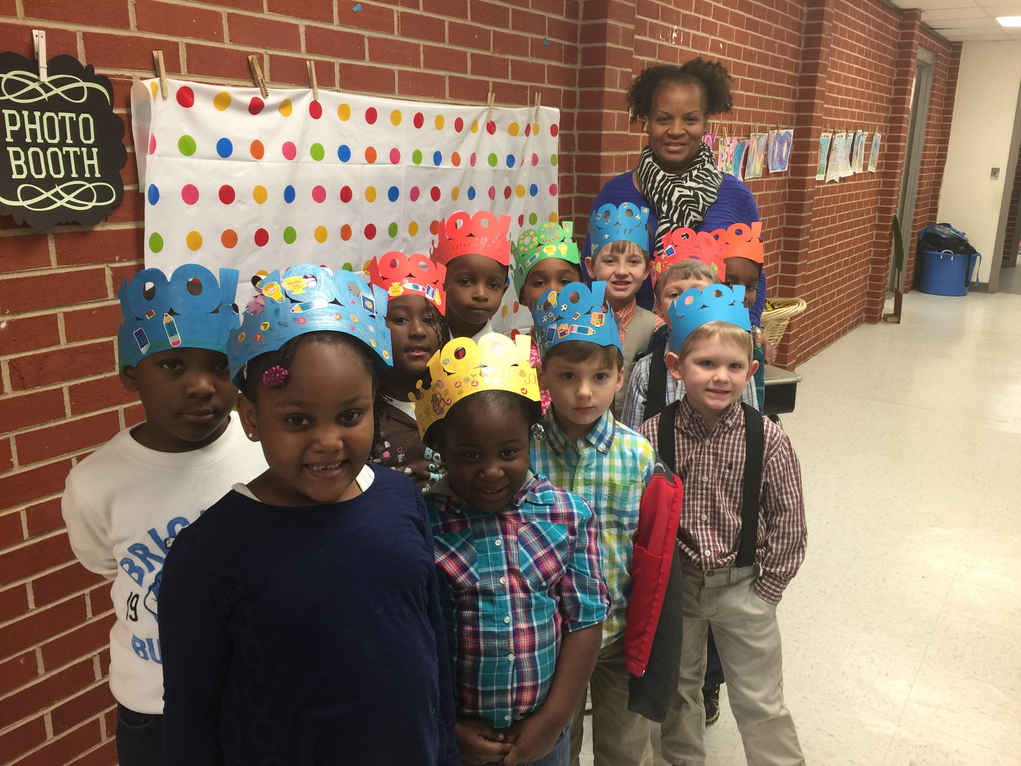 Graham's 100th day of school