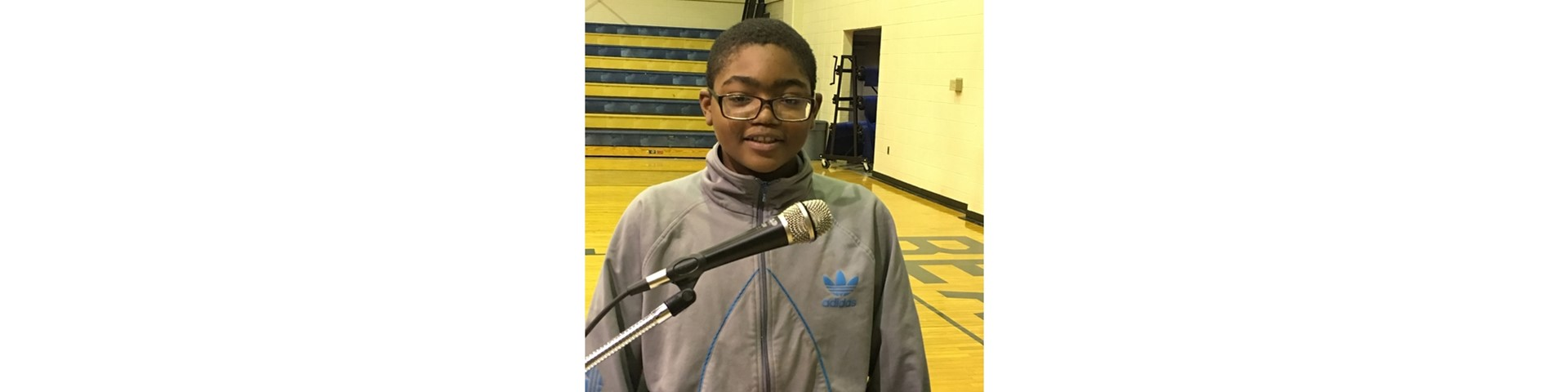 Second place Spelling Bee winner, Cameron Lewis, will represent Keith Middle-High at The Countywide Spelling Bee, Friday, 09 February 2018.
