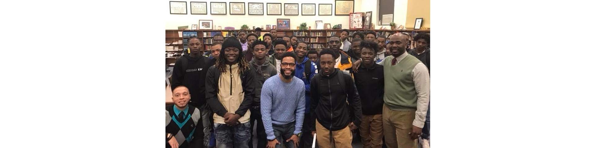 Motivation and Empowerment Seminar at Keith Middle-High with Dr. Kurt S. Clark