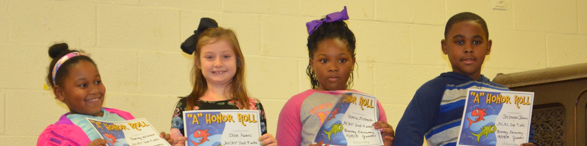 2nd 9wks Honor Assembly