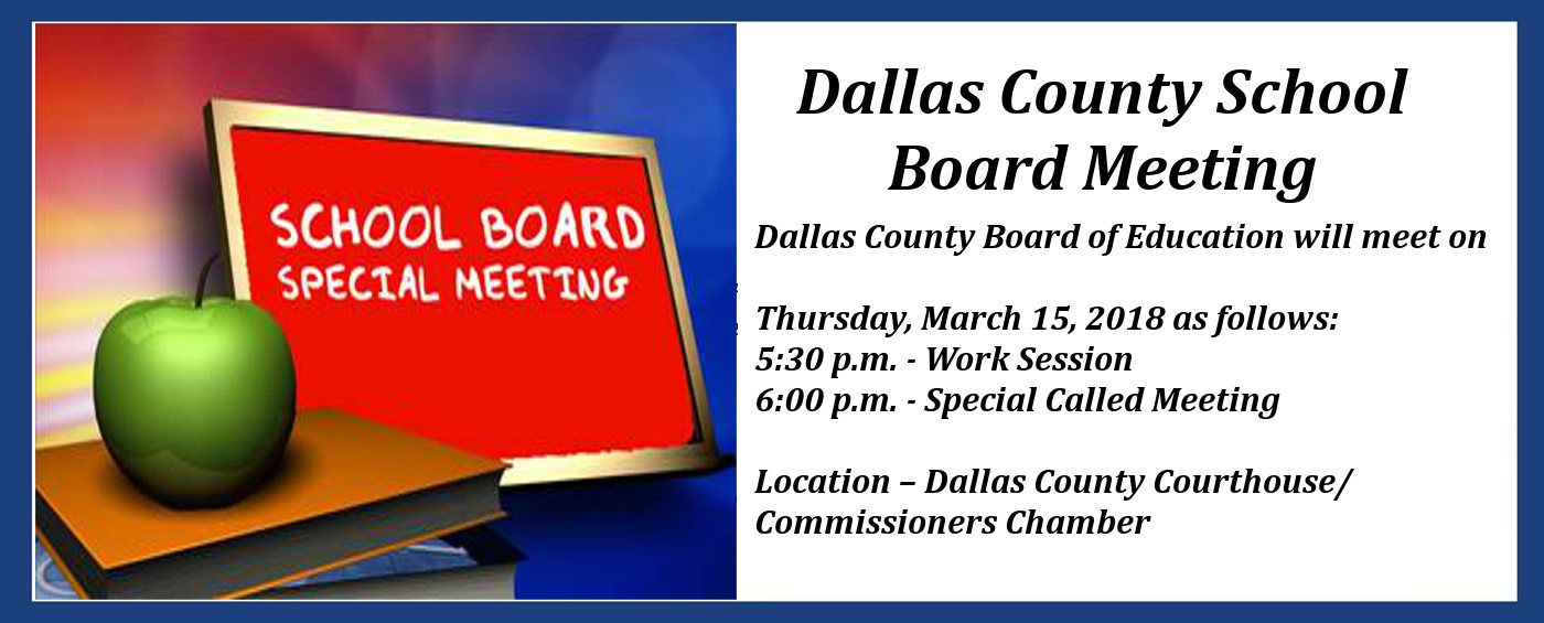 Board Meeting Announcement slide. Click Read More to get the details.