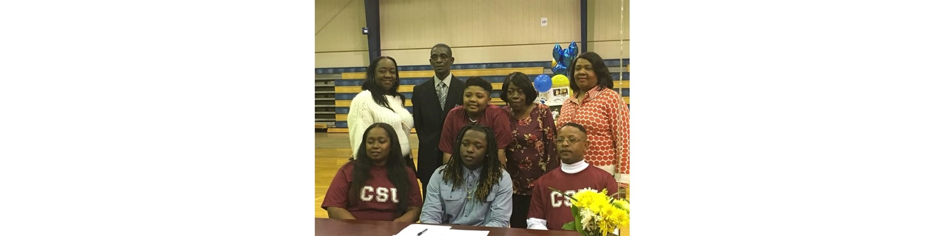 Keith Senior Ty'Quarius Murray will play football at Central State University in Wilberforce, Ohio