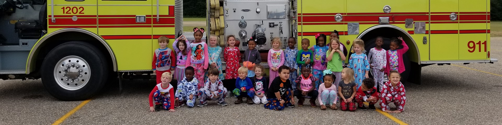 Pre K Fire Safety Month