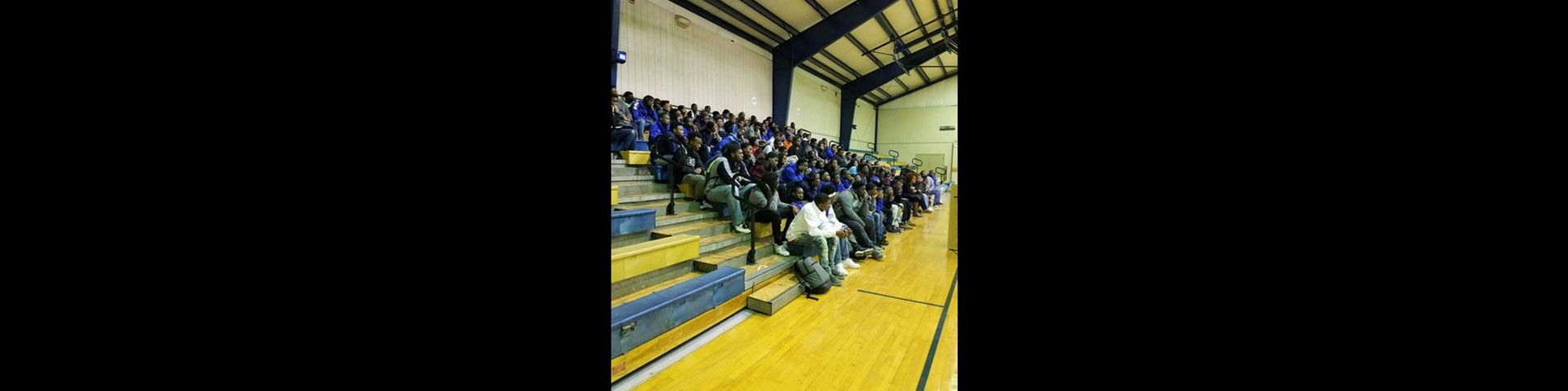 Keith Middle-High, November All-male Assembly