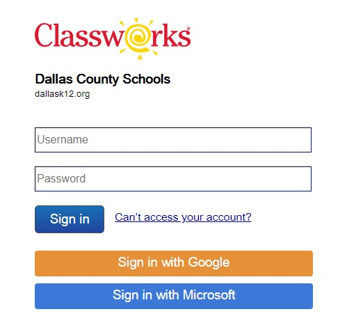 Keith Middle-High Classworks Login Logo